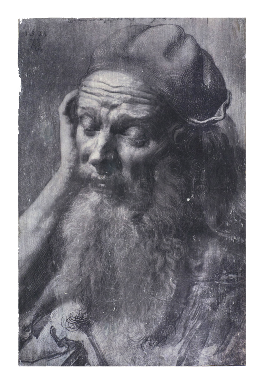 A.Dürer_AlterMann_31x20